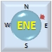 Wind from ENE