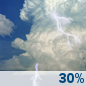 Tuesday: Chance Showers And Thunderstorms